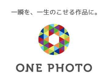 ONE PHOTOロゴ